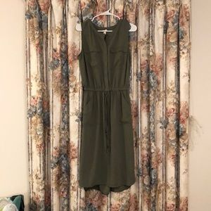 Merona Army Green Dress